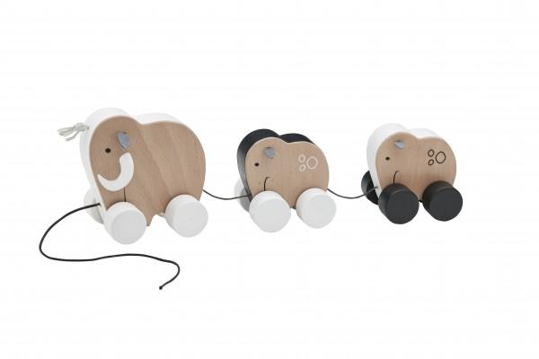 Kid's Concept - Nachziehtiere Mammutfamilie Neo