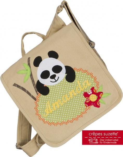 Kindergartentasche Panda Bär