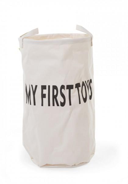 """Childhome - Aufbewahrungskorb groß """"My First Toys"""""""