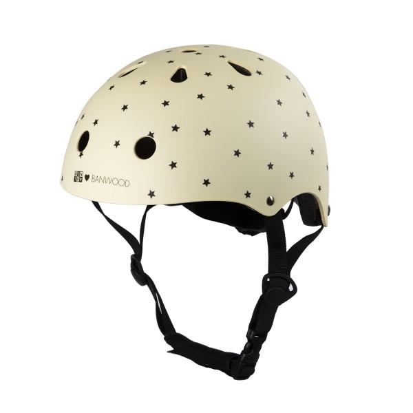 """Banwood - Helm """"créme mit Sternen""""  - SONDEREDITION"""