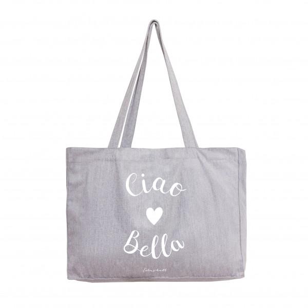 """Eulenschnitt - Stofftasche """"Ciao Bella"""""""