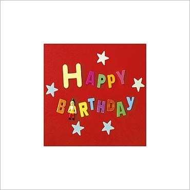 Glückwunschkarte Birthday