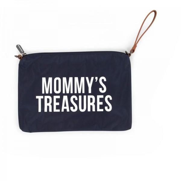 "Childhome - Clutch ""Mommy's Treasures"" - nachtblau"