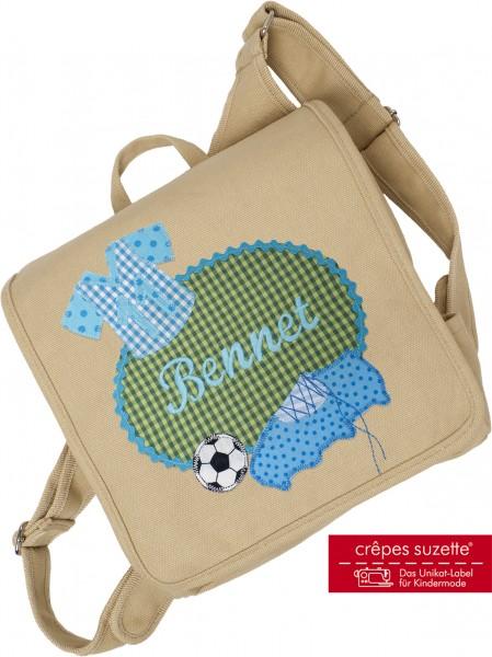 Kindergartentasche Fussballer