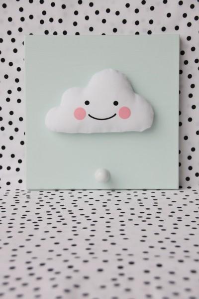 Einzelgarderobe Wolke Mint