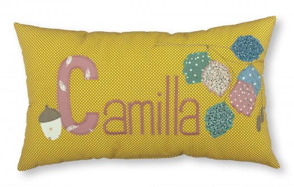 "crepes suzette - Namenskissen ""Camilla"""