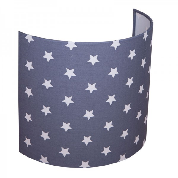 Wandlampe Sterne Grau