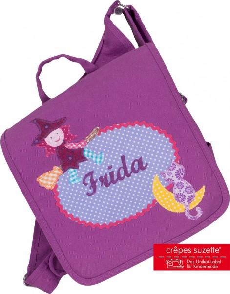 Kindergartentasche Hexe