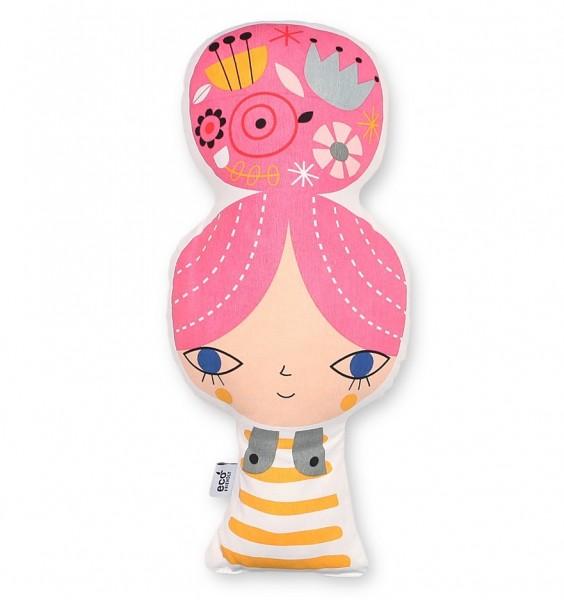 """Petit Monkey - Kissen Mädchen """"pink"""""""