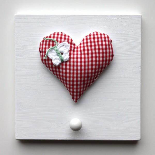 Einzelgarderobe Herz