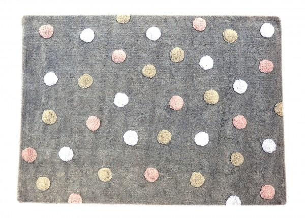 Kinderzimmer teppich in grau ab 49 auf rechnung for Kinderzimmer grau rosa