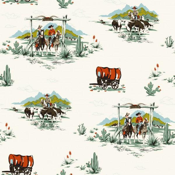 Tapete Cowboy Leben