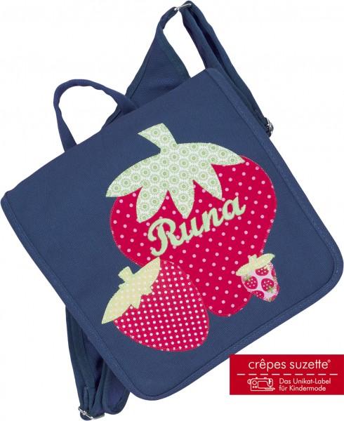 Kindergartentasche Erdbeere