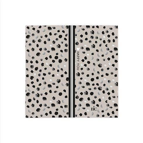 """Bastion Collections - Servietten klein """"Happy Dots"""" - 20 Stück"""