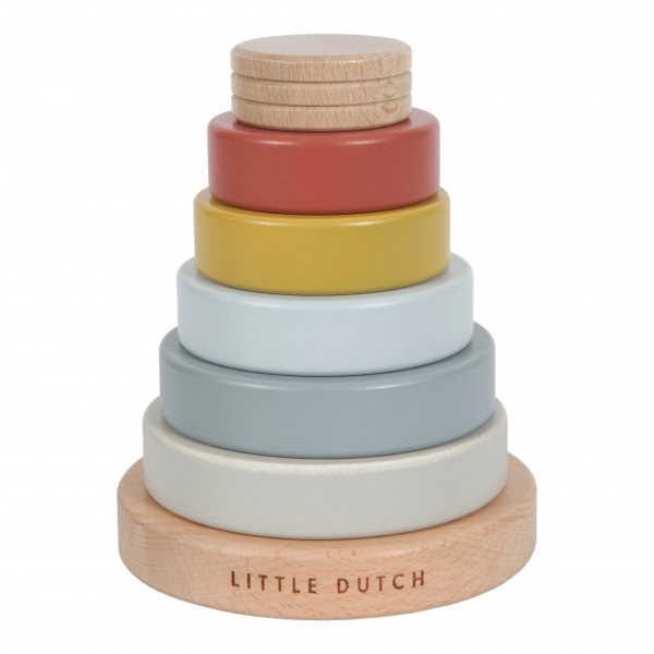 "Little Dutch - Ring Stapelturm ""Pure & Nature"""