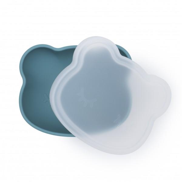 "We Might Be Tiny - Schüssel mit Deckel ""Stickie Bowl"" - blue dusk / petrolblau"