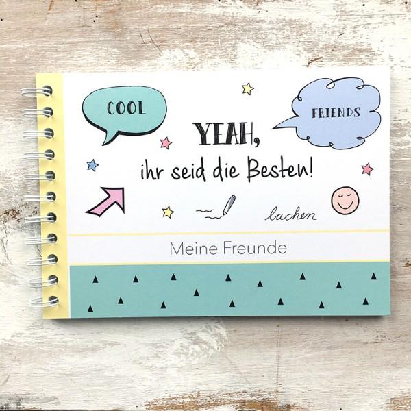 """Mintkind - Erinnerungsbuch """"Meine Freunde"""""""