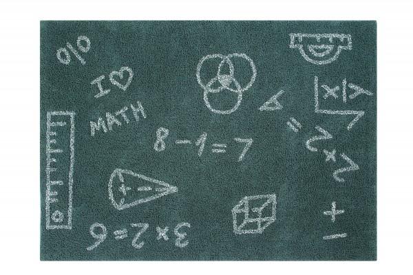 """Lorena Canals - Kinderzimmerteppich """"I Love Math"""""""