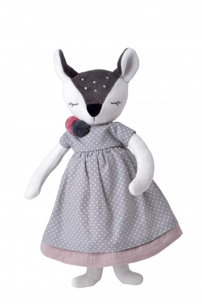 kikadu - Große Puppe Rehkitz Mädchen