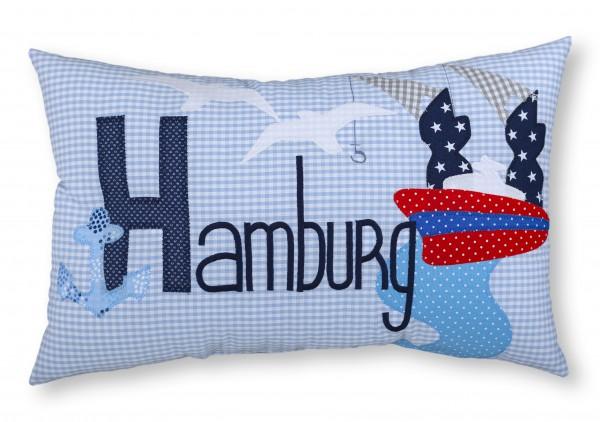 """crepes suzette - Namenskissen """"Hamburg"""""""