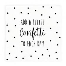 "Bastion Collections - Servietten ""Add a little confetti"""