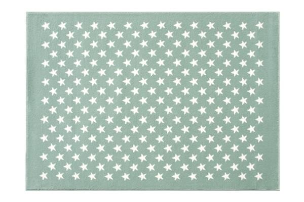 Lorena Canals - Kinderteppich Mint mit Sternen