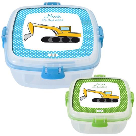 Lunchbox Bagger in zwei Farben