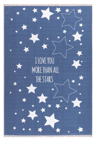 Livone - LOVE YOU STARS - jeansblau-weiss in verschiedenen Größen