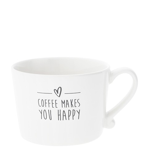"Bastion Collections - Tasse ""Coffee makes you happy"""
