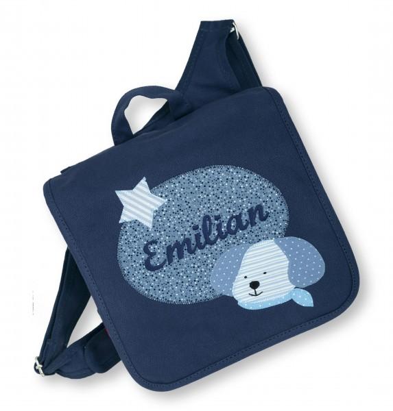 "crepes suzette - Kindergartentasche ""Emilian"" dunkelblau"
