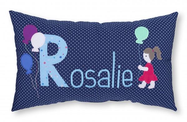 "crepes suzette - Namenskissen ""Rosalie"""