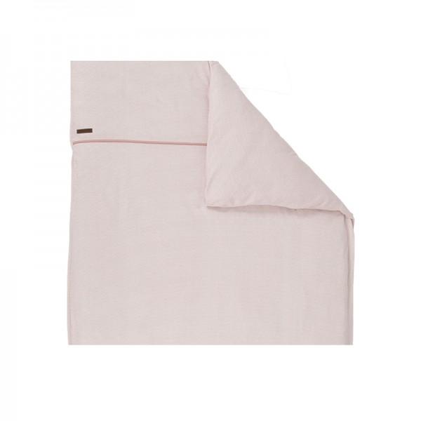 """Little Dutch - Kinderwagen-Kissenbezug """"Pink Waves"""" 80 x 80 cm"""