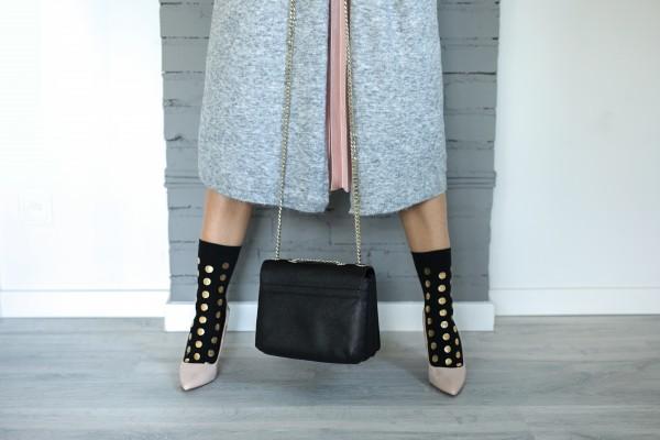 Mama's Feet - Glamoursocks - schwarz