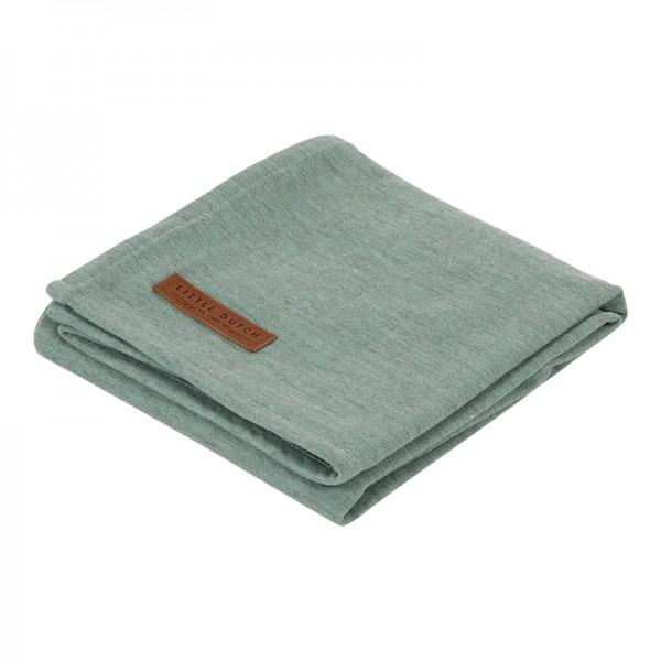 """Little Dutch - Swaddle Tuch """"Pure Mint"""" 120 x 120 cm"""