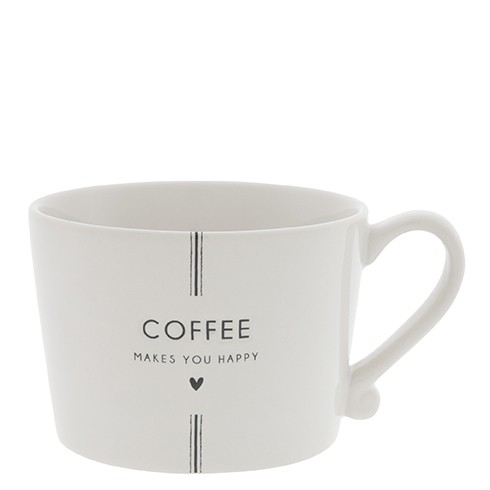"""Bastion Collections - Tasse """"Coffee makes you happy"""""""