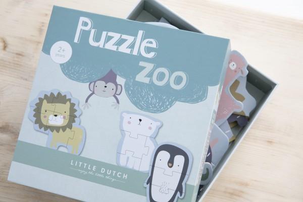 """Little Dutch - Puzzle """"Zootiere"""""""