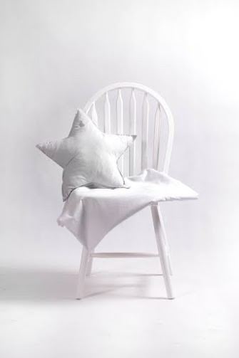 kissen stern grau meine kleine liebe. Black Bedroom Furniture Sets. Home Design Ideas
