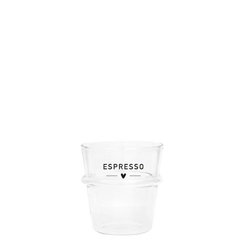 "Bastion Collections - Espresso Glas ""ESPRESSO"""