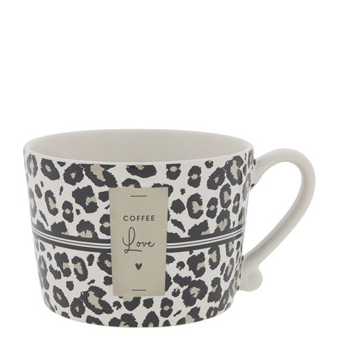 """Bastion Collections - Tasse """"COFFEE Love"""" Leopard"""