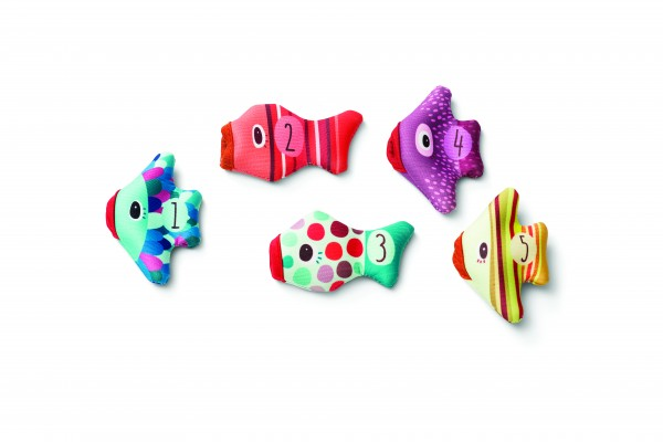 Lilliputiens - Fingerpuppen-Set Fische