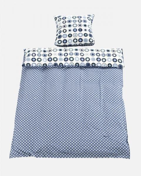 Bettwäsche Junior Sterne Blau