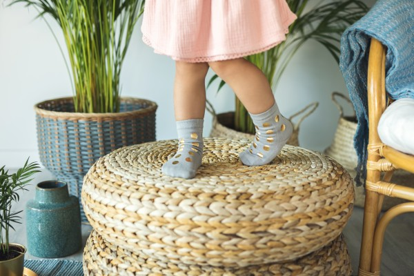 Mama's Feet - Glamoursocks - grau