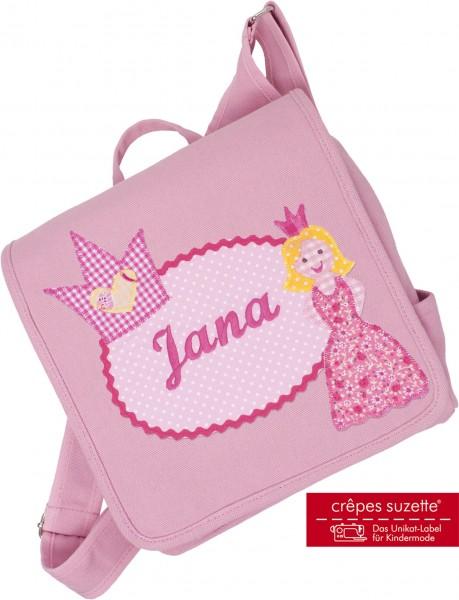 "crepes suzette - Kindergartentasche ""Prinzessin"" rosa"