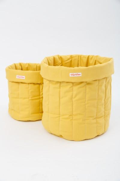WigiWama - Aufbewahrungskorb - gelb