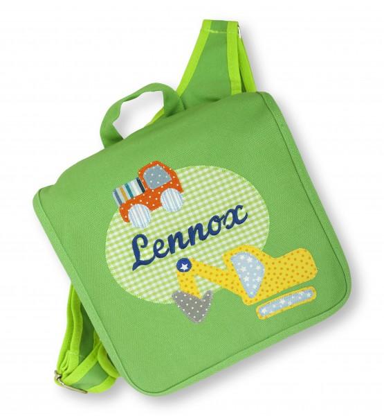 "crepes suzette - Kindergartentasche ""Lennox"" grün"