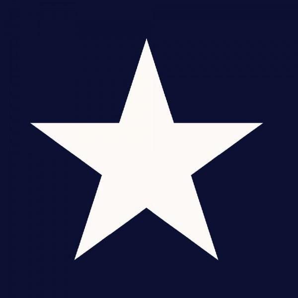 Tapete Sterne groß Marine