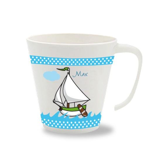Namenstasse Boot in zwei Farben