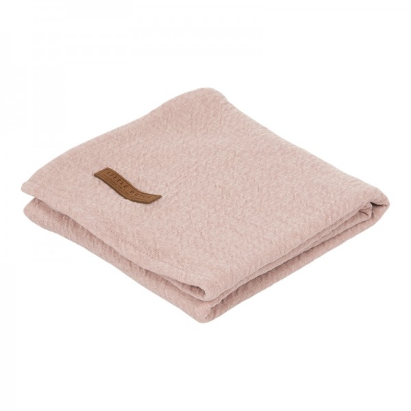 "Little Dutch - Swaddle Tuch ""Pure Pink"" 120 x 120 cm"