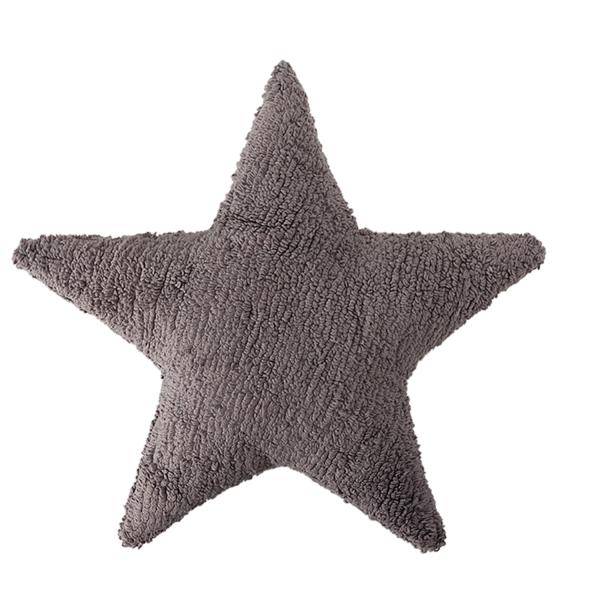 kissen f r kinder sterne grau meine kleine liebe. Black Bedroom Furniture Sets. Home Design Ideas