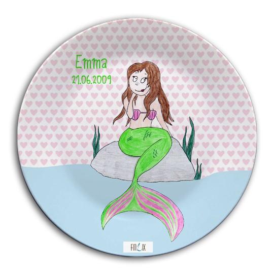 Namensteller Meerjungfrau